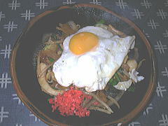 野菜炒め 500円